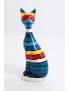 Katze XXL - Designer Deko Figur, POP-ART, MODERN, Hochglanz-Lack