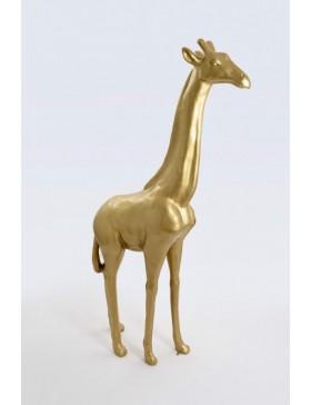 Giraffe, Deko, Tier Figur, Dekoration XXL-POP-ART, GOLD