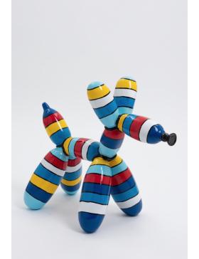 Ballon Hund- POP-ART, Designer Deko