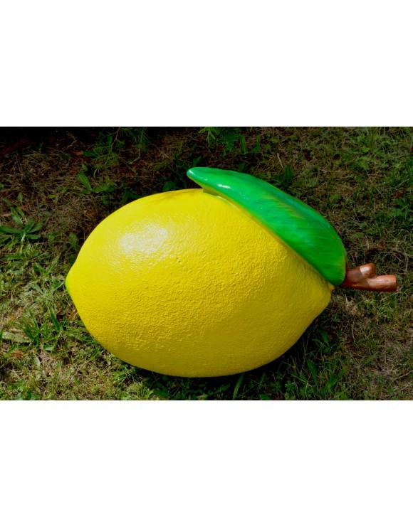 Zitrone XXL, Dekoobst DEKOFIGUR, GARTENFIGUR, Design, DEKO