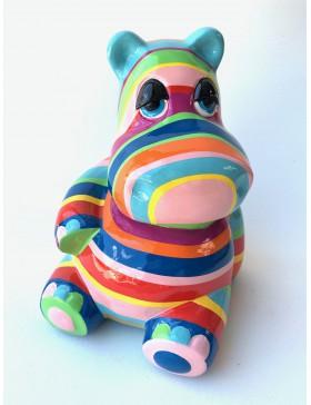 Nilpferd -Mumin - Designer Deko Figur