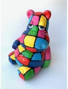 Nilpferd -Mumin - Designer Deko, Figur