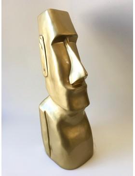 DESIGN Moai Figur, Kopf Rapa Nui Tik