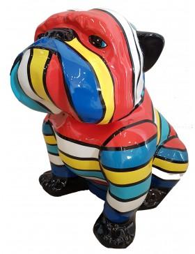 Englische Bulldogge, Designer Deko, POP-ART