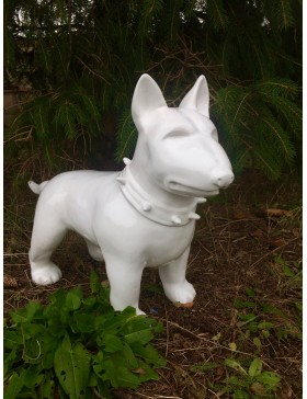 Bullterrier, DESIGN, Pit Bull, Bully, Lack Figuren